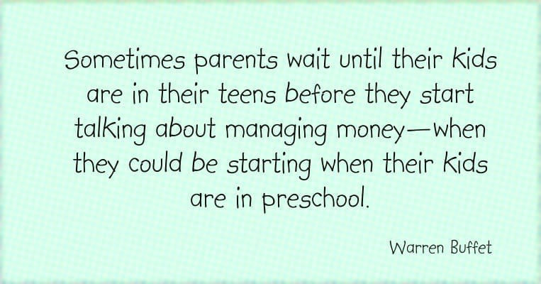 Jumpstart kids' money education in pre-school for success